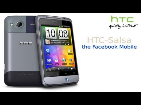 HTC Salsa - Facebook Phone Overview
