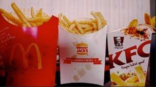 FRENCH FRIES McDonalds vs KFC vs Bu...