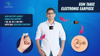 Spy earpiece - Spy Bluetooth earphone GSM tabiz electronic earpiece