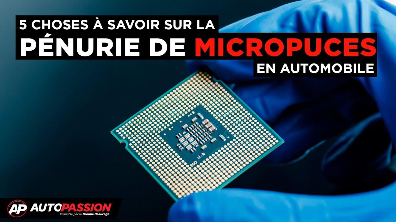 5 Choses À Savoir - Pénurie De Micropuces