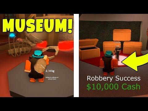 HOW TO ROB THE MUSEUM IN JAILBREAK! (Roblox Jailbreak Museum Update)