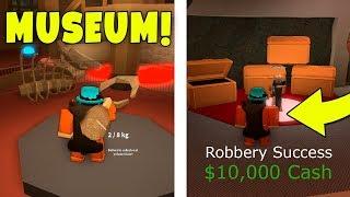 WIE MAN DAS MUSEUM IN JAILBREAK ROB! (Roblox Jailbreak Museum Update)