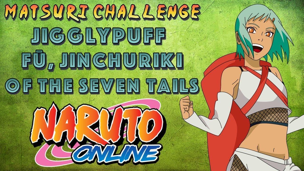 Jigglypuff Fuu Seven Tails Jinchuriki Trio Matsuri Challenge