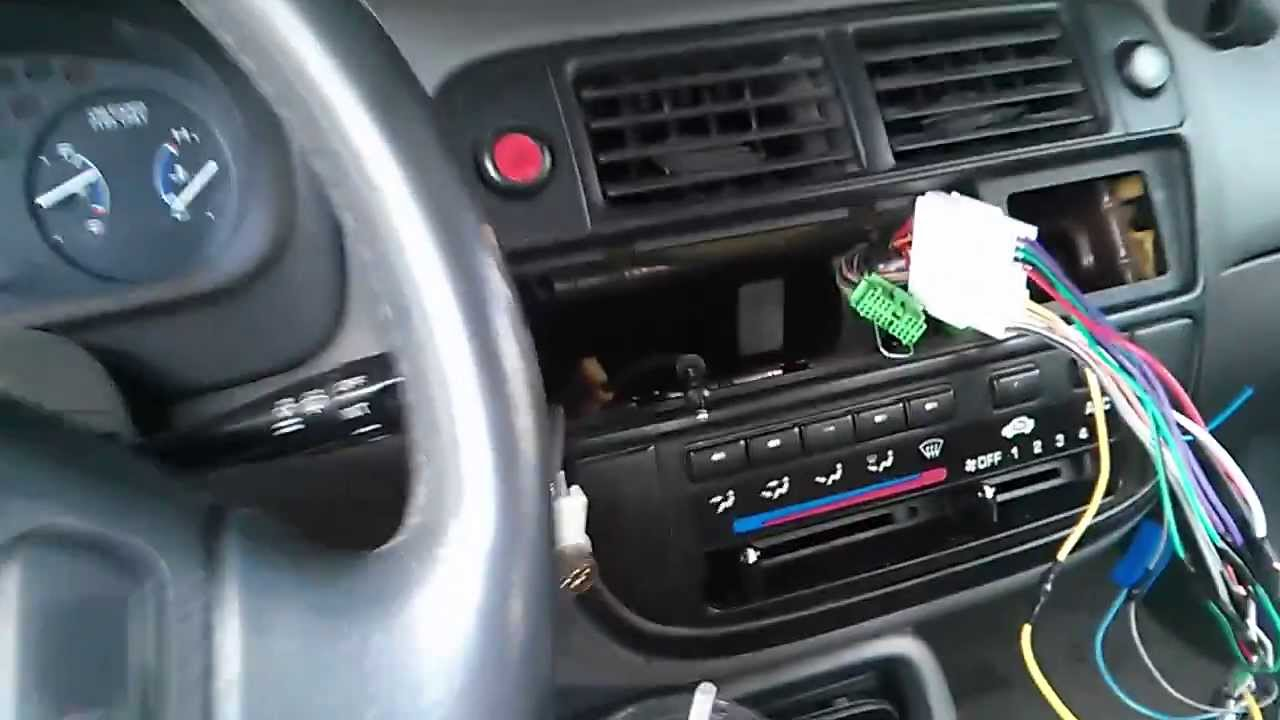 how to fix 96 98 honda civic dome light doesn t work aftermarket radio youtube [ 1280 x 720 Pixel ]