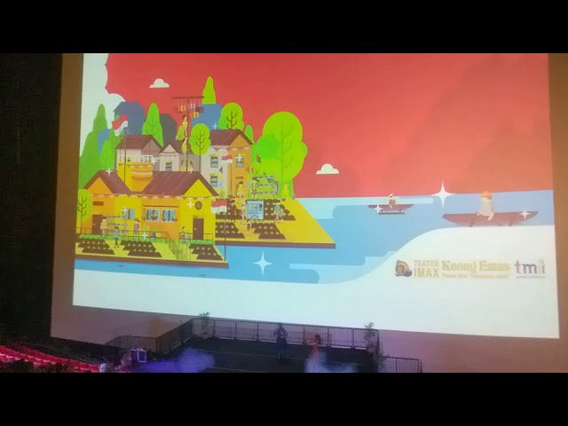 Alda & Inayah End Performance GalaPremier Film Dongeng Musical Keongemas TMII