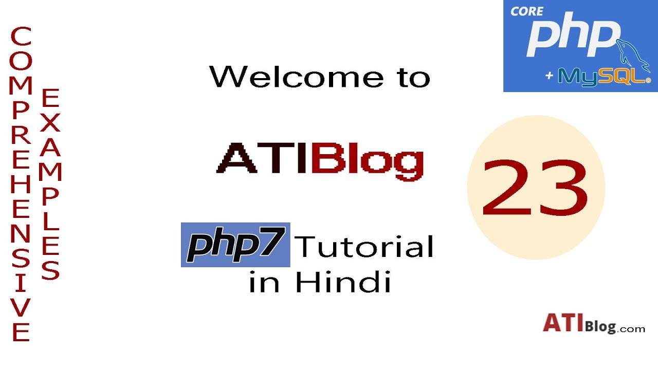 23. PHP Array Functions-10 | array_product and array_push | ATIBlog