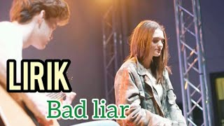 Download lagu LIRIK Bad Liar - Anna Hamilton ( Cover )