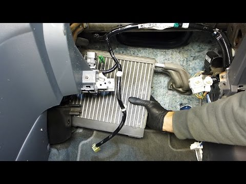 Honda Accord AC Evaporator And Expansion Valve Replacement (2003 - 2007)
