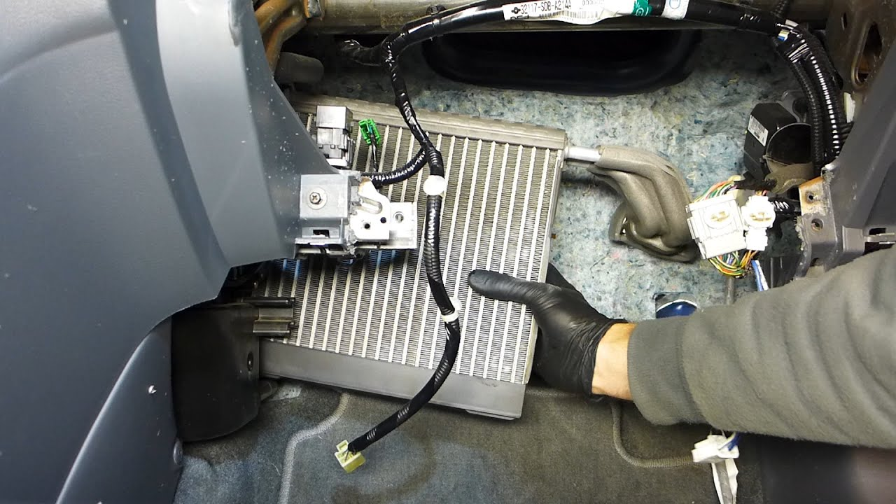 Honda Accord AC Evaporator And Expansion Valve Replacement (2003  2007)  YouTube