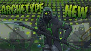 NEW Fortnite Archetype Skin Gameplay (Xbox One)