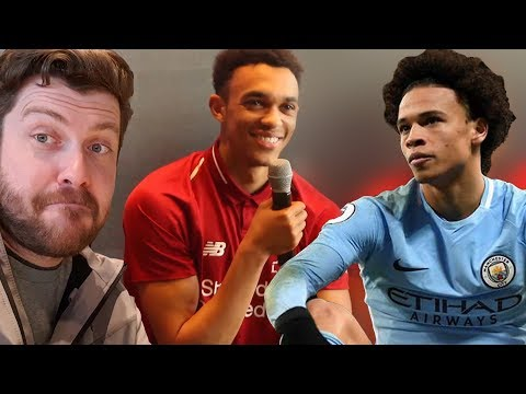 Trent's BOSS REACTION To Pocketing Leroy Sané! | Liverpool Home Kit Launch VLOG