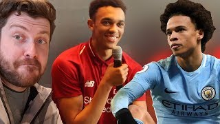 Trent's BOSS REACTION To Pocketing Leroy Sané!   Liverpool Home Kit Launch VLOG