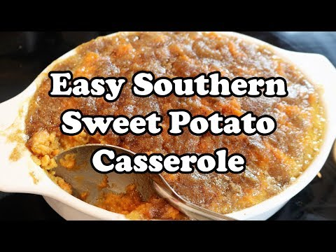 THANKSGIVING Series: Sweet Potato Casserole - Best Sweet Potato Recipe - Chef Lorious