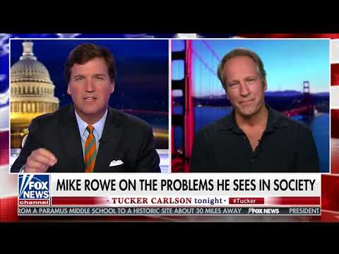 MIKE ROWE FULL ONE-ON-ONE INTERVIEW WITH TUCKER CARLSON (5/24/2018)