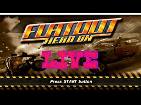 Flat Out Head On PPSSPP 100% Parte 2
