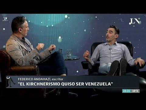 """Federico Andahazi en """"Desde el diván"""", de D.Sehinkman - 15/11/17"""