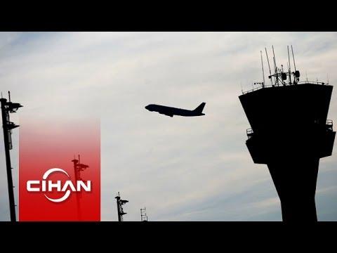Acil iniş yapan uçakla kule arasında konuşmalar