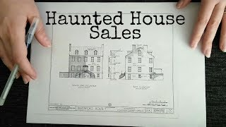 ASMR Haunted House Real Estate Role Play (Halloween Special, Floor Plan) ☀365 Days of ASMR☀