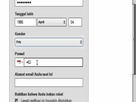 TUTORIAL CARA MEMBUAT AKUN DI YOUTUBE