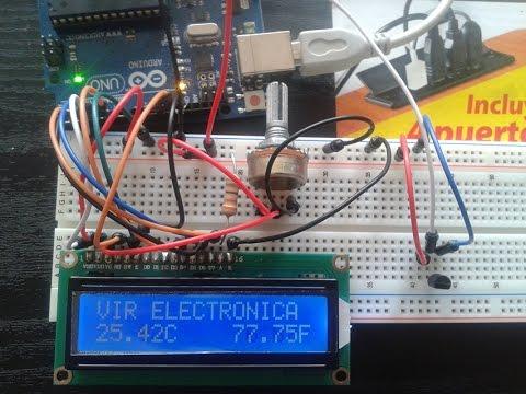 Arduino-LCD-LM35 (ARDUINO TUTORIAL)