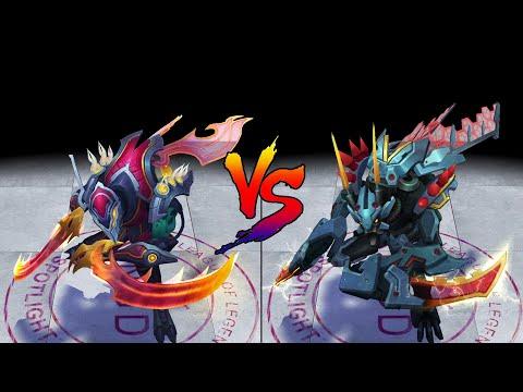 Odyssey Kha Zix vs Mecha Kha Zix Skin Comparison Spotlight (League of Legends)