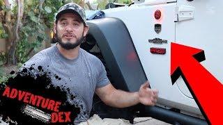 $20 Jeep Wrangler DIY Accessory!! - Badge Glow