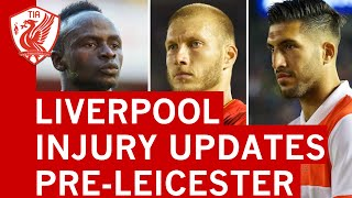 Liverpool FC injury update ahead of Leicester City Premier League clash