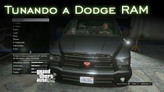 Tunando a Dodge RAM | GTA V [PT-BR]