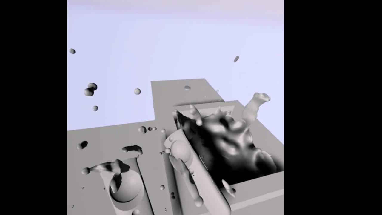 Lee Vermeulen » VR Feet Tracking and Liquid physics
