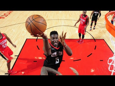 NBA G League Alum Clint Capela GOES OFF for 28 points in Rockets win!