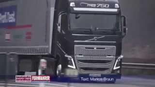 Der Volvo FH16 750 Globetrotter XL im Vergleichstest