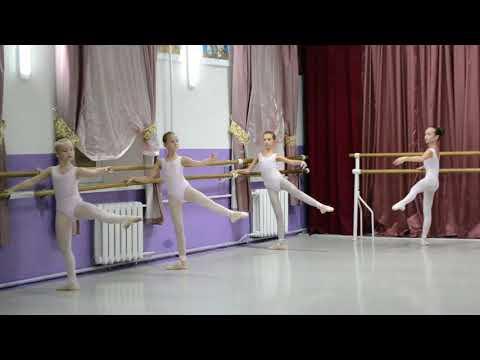 Video Ballet school Open class 11 12 2017
