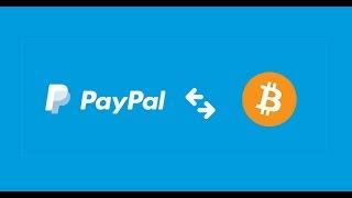 Opciones de intercambiar bitcoin con paypal