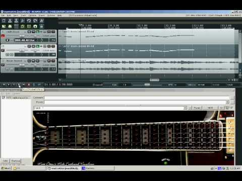 Fretboard Visualizer with Plug Sound
