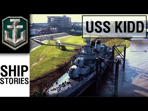Ship Stories – USS Kidd
