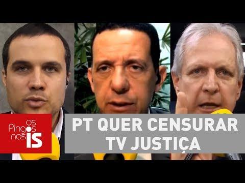 Debate: PT Quer Censurar TV Justiça Para Soltar Lula No Escurinho