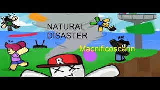 DISASTERS DO NOT STOP!!!! Natural Disaster Survival Roblox