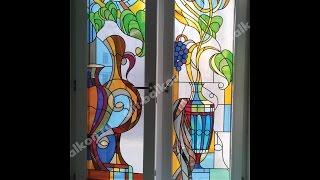 Витраж мечта в окнах ПВХ в загородные дома, на балконы и лоджии в Москве и М. О!!!(, 2015-07-17T13:03:37.000Z)