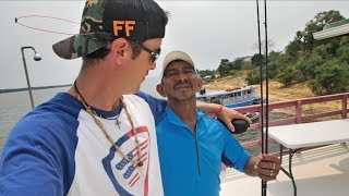 Giving My Fishing Gear to Awesome Anglers! - Fishing Peacock Bass in the Amazon pt.7