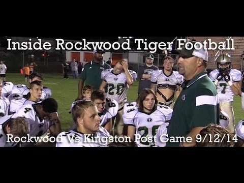 Rockwood Vs Kingston Post Game 9/12/14