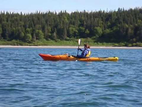 Adventures - Kayaking - Havre St. Pierre - 2008 - Rhonda Paddling