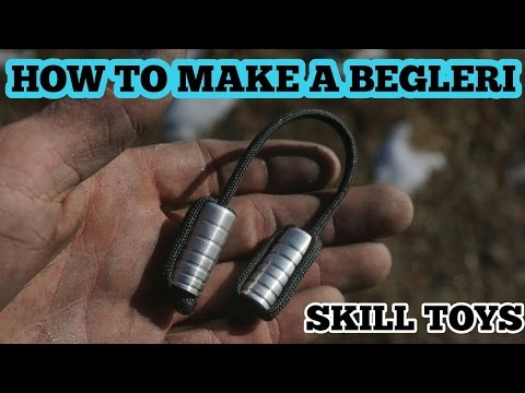 How To Make A Begleri - 2 Beads 1 String