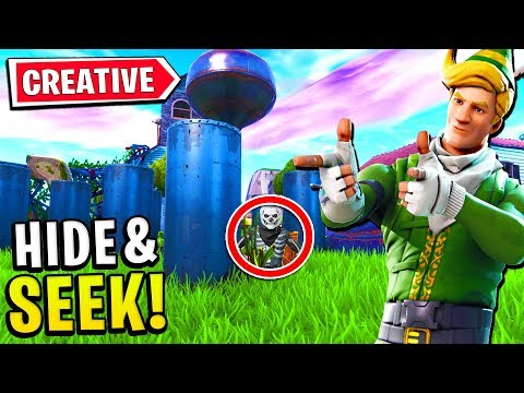 HIDE AND SEEK in Fortnite CREATIVE MODE vs LACHLAN AND MYTH thumbnail