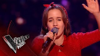 Lilia Performs 'Dream A Little Dream Of Me': Blinds 3 | The Voice Kids UK 2018
