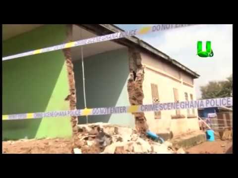 Kwadaso Disaster: Collapsed building kills two children