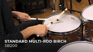 MEINL Stick & Brush Standard Multi-Rod Birch SB200