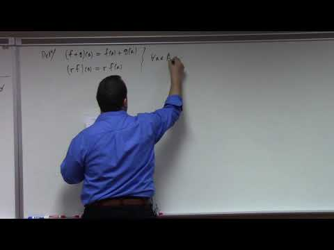 Abstract Algebra II: free module and tensor product constructions, 1-21-19