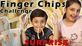 FINGER CHIPS CHALLENGE #Fun #Kids #Bloopers || Aayu and Pihu Show