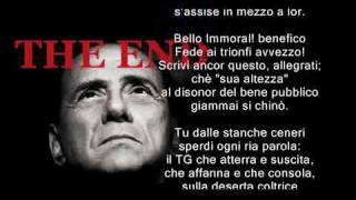 La morte politica di Berlusconi  - EI FU SICCOME IMMOBILE .. (riscritta) - BERLUSCONI END