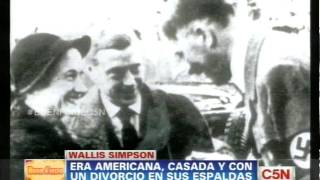 C5N   ESPECTACULOS LA VIDA DE WALLIS SIMPSON